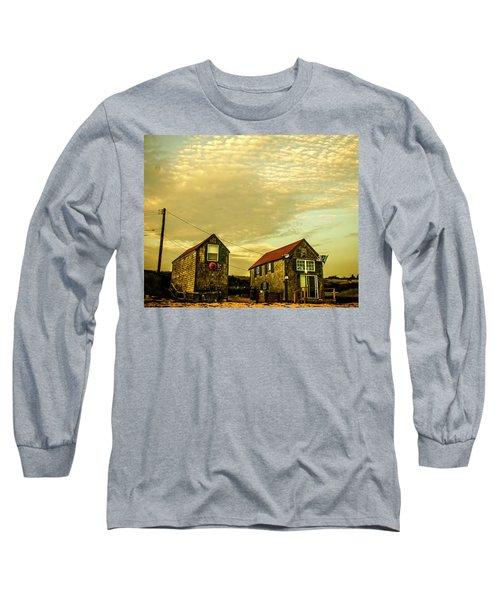 Truro Beach Houses Long Sleeve T-Shirt