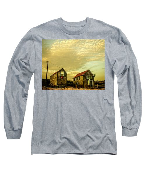 Truro Beach Houses Long Sleeve T-Shirt