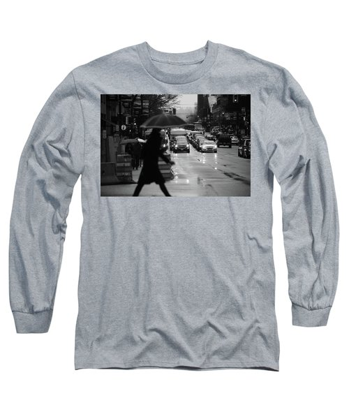 Trying To Stand Out  Long Sleeve T-Shirt by Empty Wall