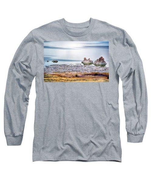 Tufa Formations At Mono Lake Long Sleeve T-Shirt