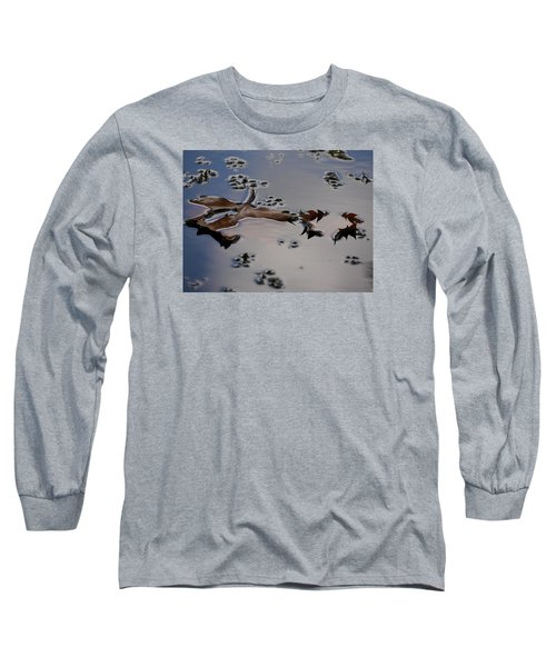 Tulip Tree Leaves Long Sleeve T-Shirt by Jane Ford
