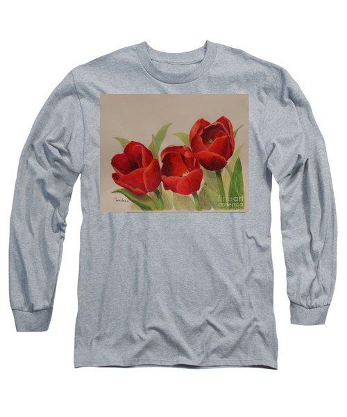 Tulip Trio Long Sleeve T-Shirt