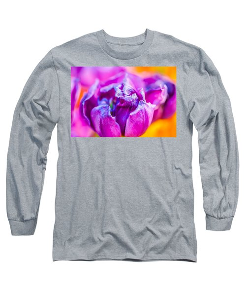 Long Sleeve T-Shirt featuring the photograph Tulips Enchanting 50 by Alexander Senin