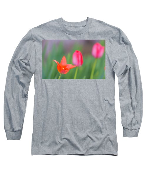 Tulips In My Garden Long Sleeve T-Shirt