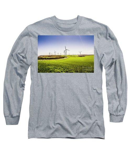 Turbine Fields Long Sleeve T-Shirt