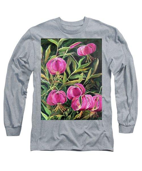 Turk Tigers In My Garden Long Sleeve T-Shirt