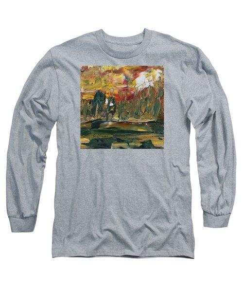 Turmoil Long Sleeve T-Shirt by Alan Mager