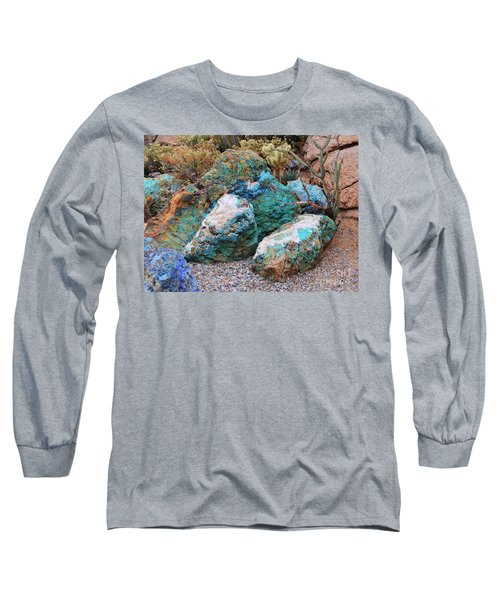 Turquoise Rocks Long Sleeve T-Shirt