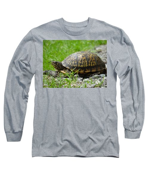 Turtle Crossing Long Sleeve T-Shirt