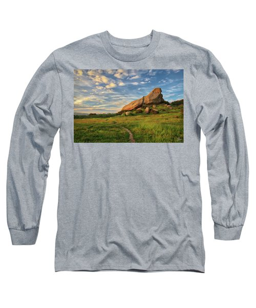 Turtle Rock At Sunset Long Sleeve T-Shirt by Endre Balogh