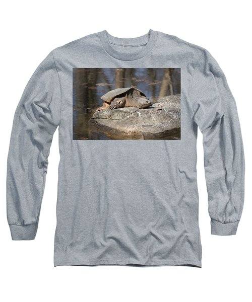 Turtle Tanning Bed Long Sleeve T-Shirt