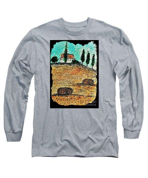 Tuscany  Long Sleeve T-Shirt by Jasna Gopic