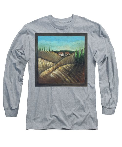 Tuscany Trees Long Sleeve T-Shirt