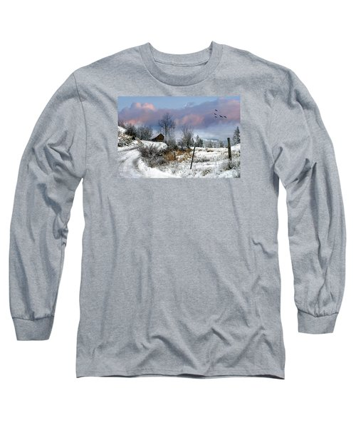 Twain's Barn Long Sleeve T-Shirt