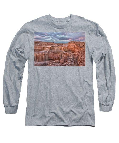 Twilight At Chocolate Falls Long Sleeve T-Shirt