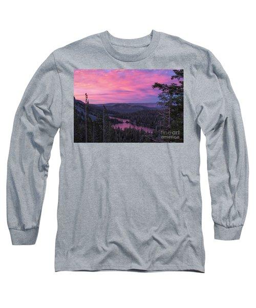 Twilight Mammoth Lakes  Long Sleeve T-Shirt