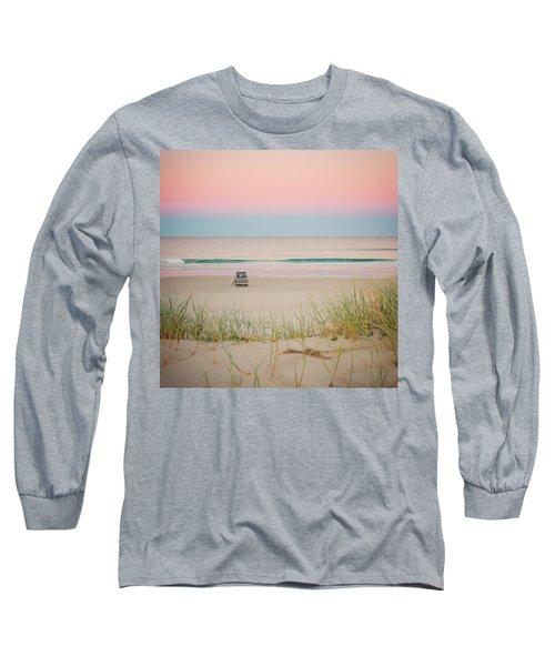 Twilight On The Beach Long Sleeve T-Shirt
