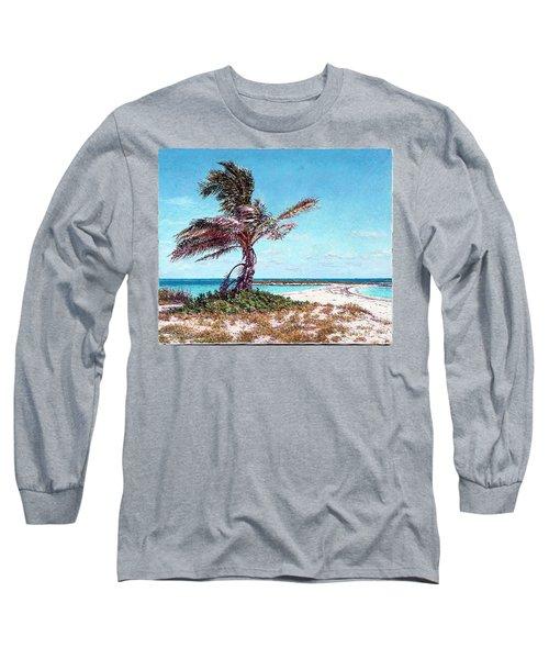 Twin Cove Palm Long Sleeve T-Shirt