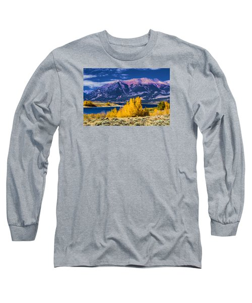 Twin Lakes Long Sleeve T-Shirt by Steven Parker