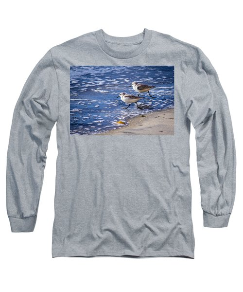 Twin Plovers Long Sleeve T-Shirt