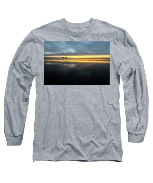 Twin Rocks Sunset Sliver Long Sleeve T-Shirt