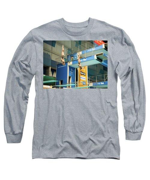 Long Sleeve T-Shirt featuring the photograph Twin Spin by Alex Lapidus