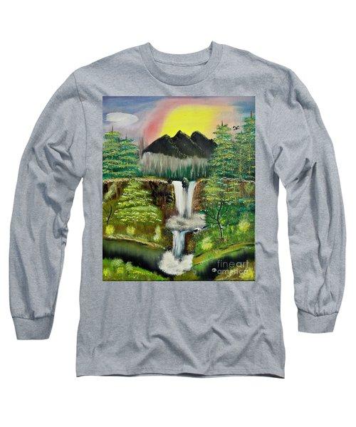Twin Waterfalls Long Sleeve T-Shirt