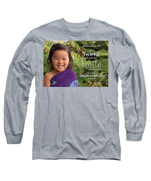 Twinkle Smile Long Sleeve T-Shirt