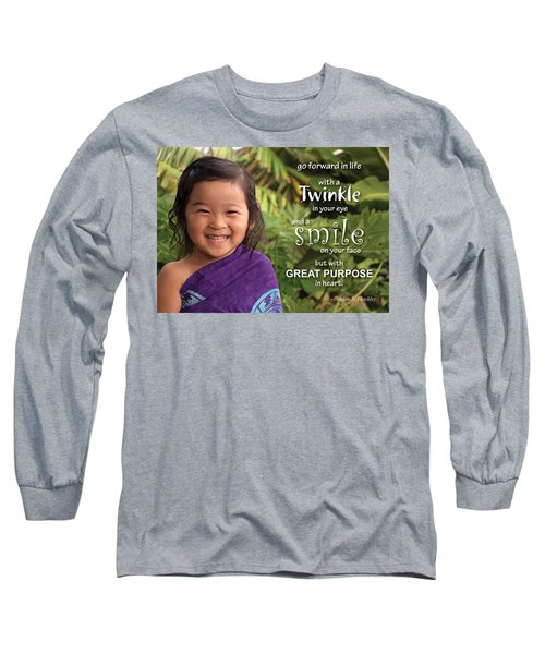 Twinkle Smile Long Sleeve T-Shirt