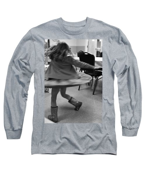 Twirling Girl  Long Sleeve T-Shirt
