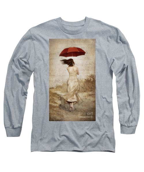 Twirling Painted Lady Long Sleeve T-Shirt