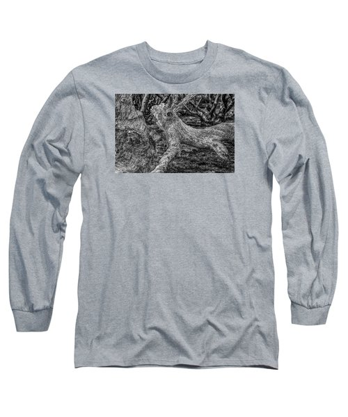 Twisted Long Sleeve T-Shirt by Mark Lucey