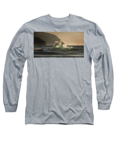 Twisted Wave Long Sleeve T-Shirt