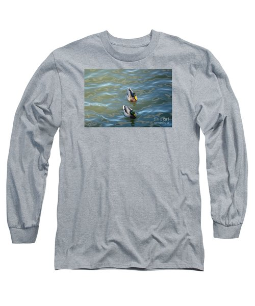 Two Brothers Long Sleeve T-Shirt by Jean Bernard Roussilhe