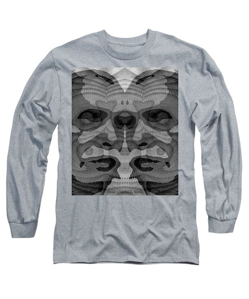 Two-faced Bw Version Long Sleeve T-Shirt