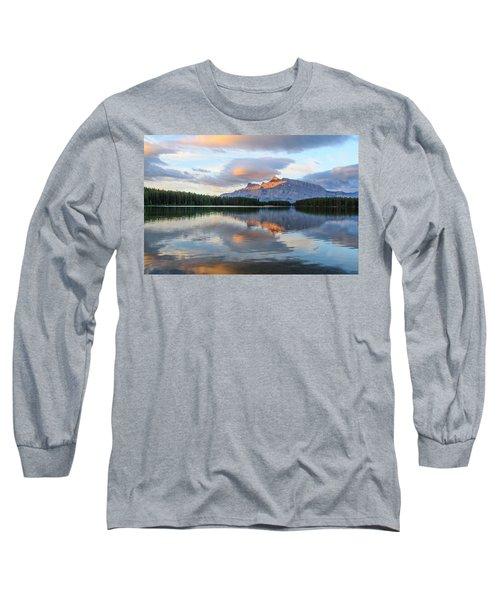 Two Jack Lake, Banff National Park Long Sleeve T-Shirt