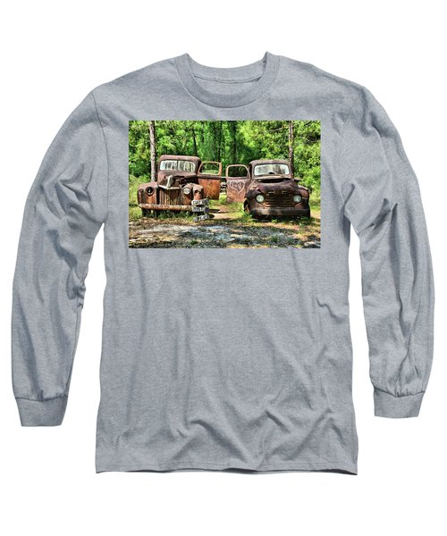 Two Old Dogs Long Sleeve T-Shirt