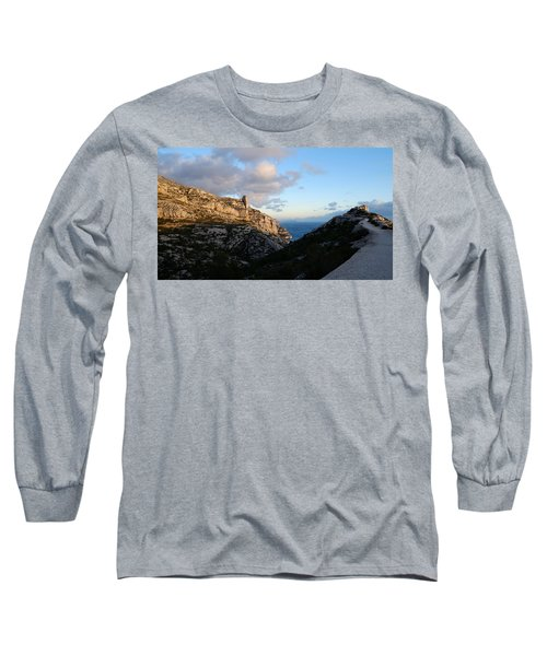 Long Sleeve T-Shirt featuring the photograph Two Point View by August Timmermans