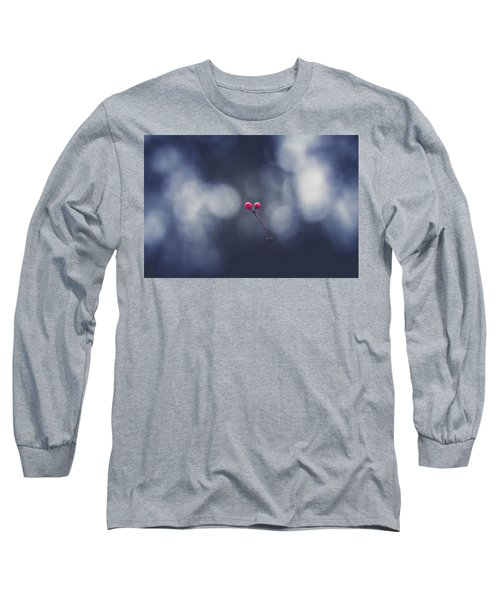 Long Sleeve T-Shirt featuring the photograph two by Shane Holsclaw