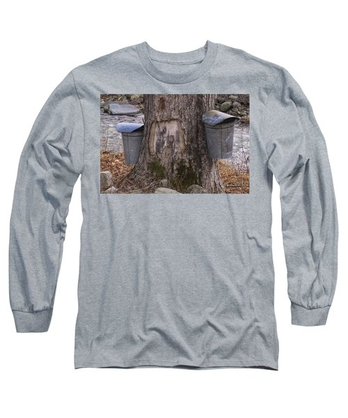 Two Syrup Buckets Long Sleeve T-Shirt