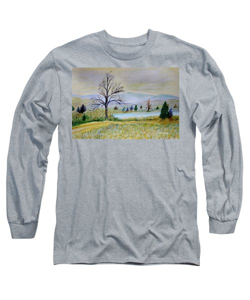 Two Tracking Long Sleeve T-Shirt