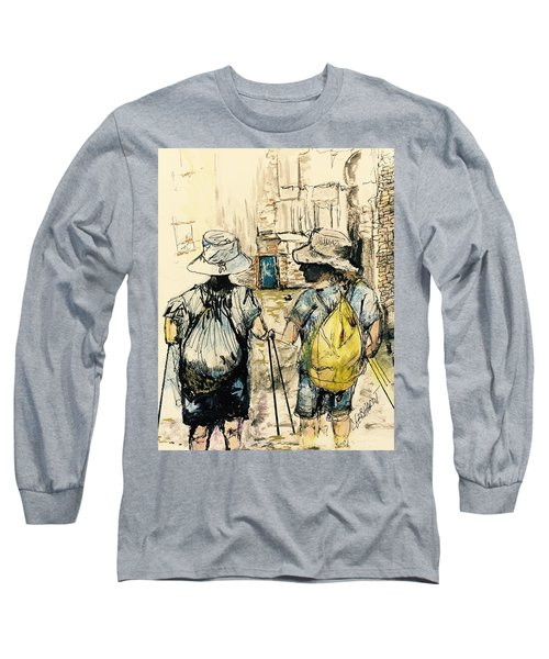 Texans On The Camino De Santiago Long Sleeve T-Shirt