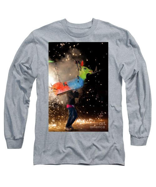 Typical Festival Plaza South Italy Long Sleeve T-Shirt