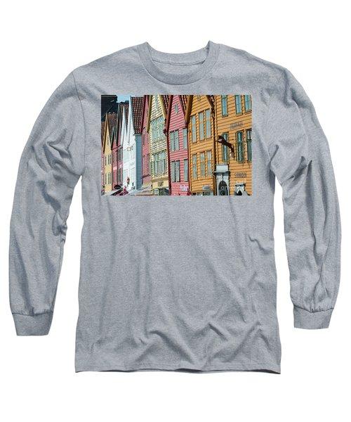 Tyske Bryggen, Bergen Long Sleeve T-Shirt