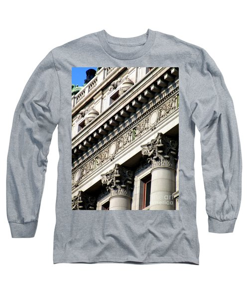 U S Custom House 2 Long Sleeve T-Shirt by Randall Weidner