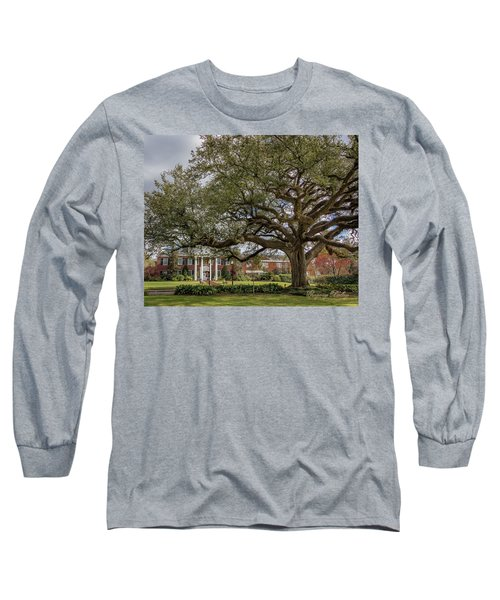 Long Sleeve T-Shirt featuring the photograph Ul President Home 01 by Gregory Daley  PPSA