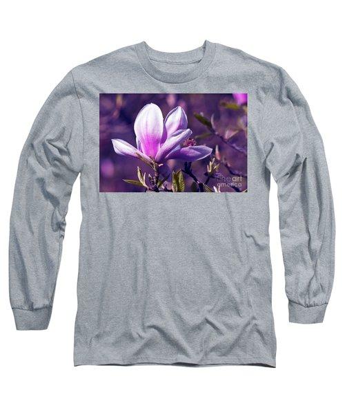 Ultra Violet Magnolia  Long Sleeve T-Shirt