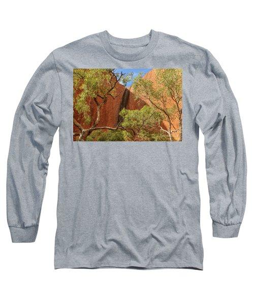 Long Sleeve T-Shirt featuring the photograph Uluru 02 by Werner Padarin