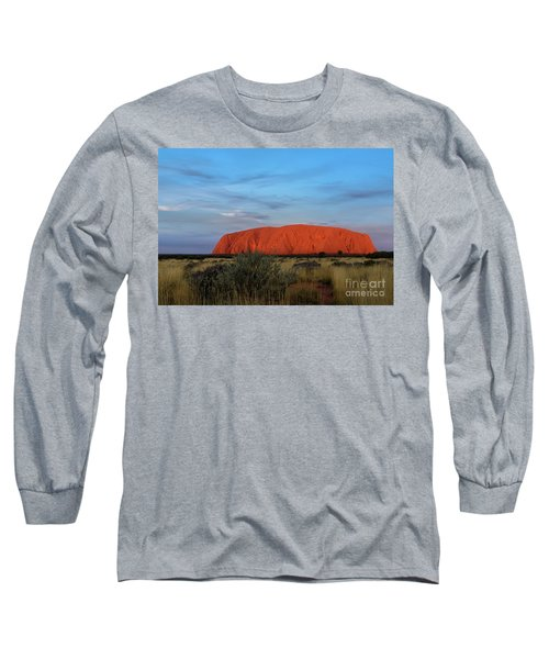 Uluru Sunset 03 Long Sleeve T-Shirt