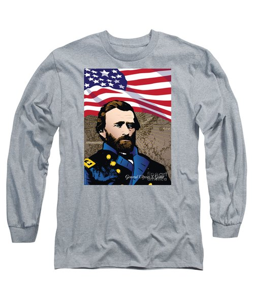 Ulysses S. Grant At Appomattox Long Sleeve T-Shirt